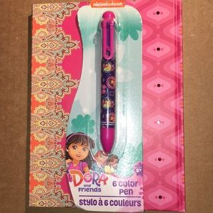 Dora the explorer and friends 6 color pen